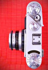 Old metal camera