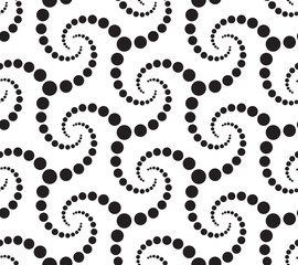 Seamlees Monochrome Pattern