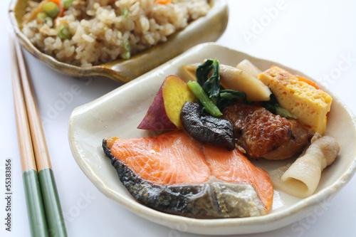 日本の食卓 おかずイメージ クローズアップ