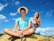 Fröhlichkeit, Albernheit: Gut gelaunt im Sommer