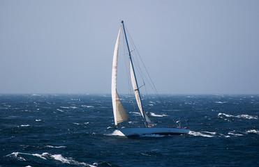 Sailing in Atlantic waters