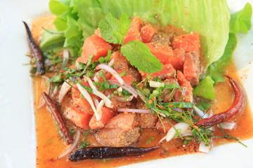 Larb Salmon