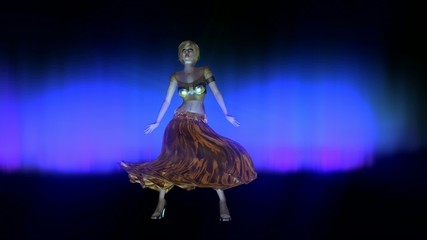 Dancing Woman Animation