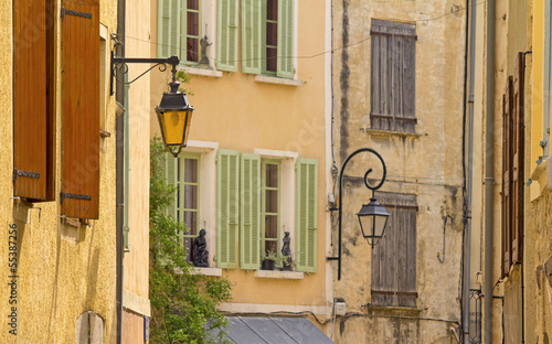 French village, from Provence. France.