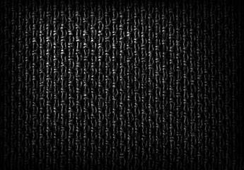 Dark fibrous textile background