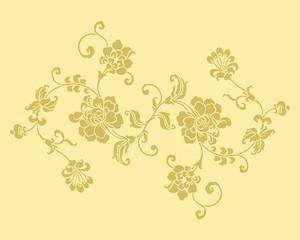 Texture floreale decori