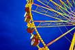 Riesenrad auf dem Jahrmarkt - Momentaufnahme