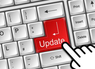 Tastatur Cursor Update