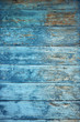 old wooden blue wall