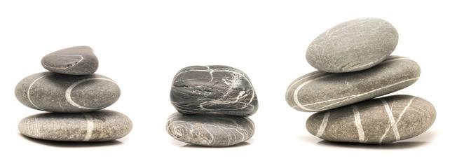 balancing pebbles