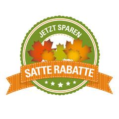 Herbst-Button: Jetzt Sparen – Satte Rabatte