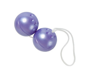Purple love balls - sex toy for woman