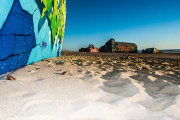 Bunker an der Küste