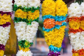 Indian flower garlands