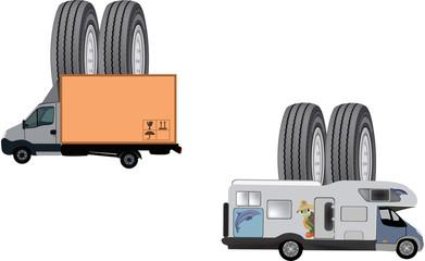 copertone furgone