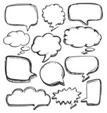 Fototapety speech bubbles
