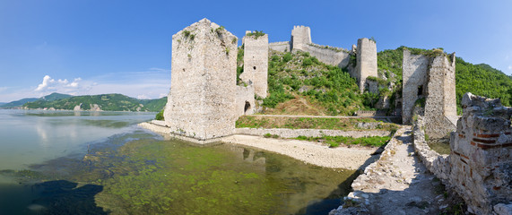 Golubac castle in Serbia