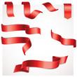 Bänder Set - rot