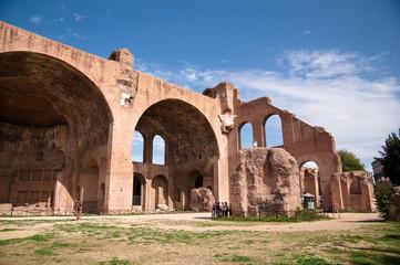 Basilica di Massenzio at Roman forum