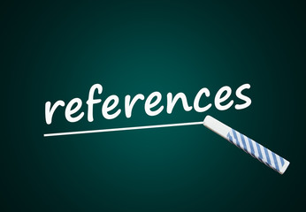 references (reference letter, job, application)