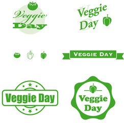 veggie day label etiketten