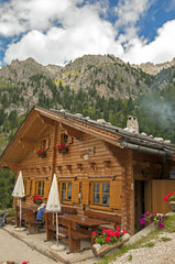 rifigio kaserill alm,Funes,sudtirol,Italia