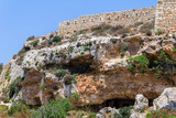 Roman tombs in the region of Bingemma in Malta