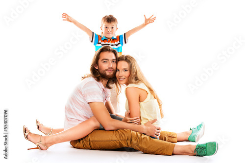 family with child