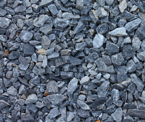 Gray blue rubble stones texture