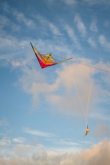 kite on wires