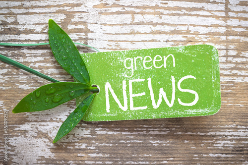 green News label
