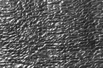 background of silver paper