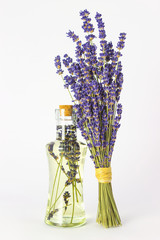 Lavendelöl Konzept