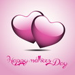 Happy Mothers's Day Typographical Background