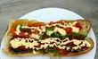 sandwich bifteck légume mayonnaise
