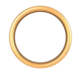 Scratched Golden Ring