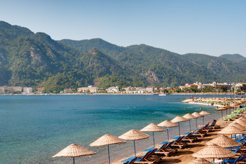 Beach of Marmaris, Turkey