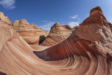 The Wave, sandstone recreation area in Utah