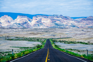On the way to Capitol Reef National Park, Utah, USA.