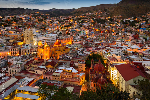 Twilight at Guanajuato