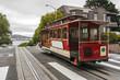 Leinwandbild Motiv Cable Car in San Francisco