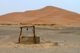 Water well in Sahara Desert, Morocco