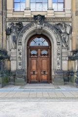 Dresden alte Tür - Brühlsche Terrasse - Kunstakademie
