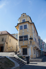 Old house in Bratislava, Slovakia