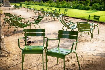 ai giardini des Tuileries