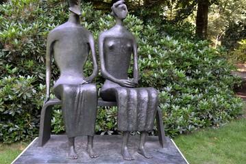 Sculpture of a couple