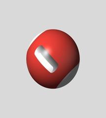 geometria di colore rosso