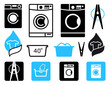 Washing icons