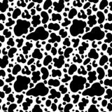Cow print seamless pattern
