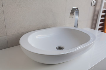 Urban apartment - vessel sink